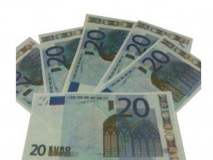 Imagens de Notas Papel Flash 20 euros