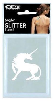 Imagens de Stencil Glitter Tatto