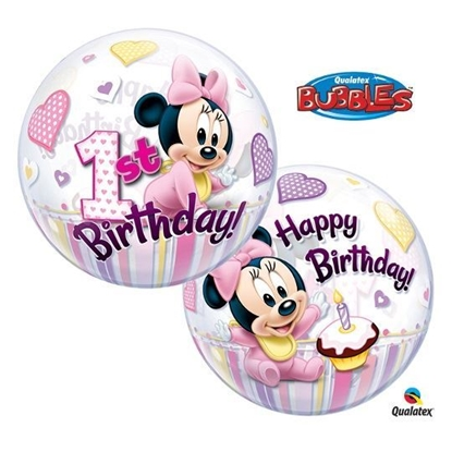 Imagens de Bubble Happy Birthday Minnie