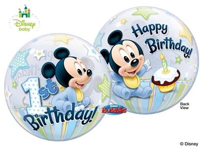 Imagens de Bubble Happy Birthday Mickey