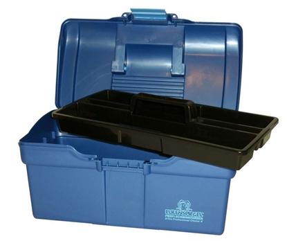 Imagens de Mala de Transporte Plástica Azul