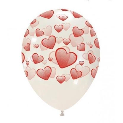 Imagens de Balão Incolor com Corações