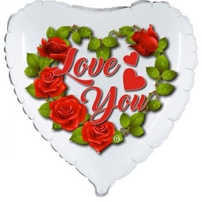 Imagens de Balão Foil Love You