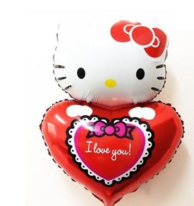 Imagens de Balão Hello Kitty São Valentim