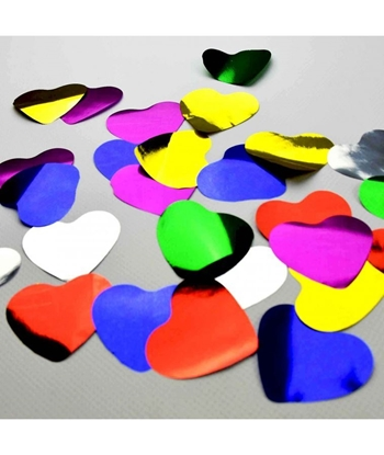 Imagens de Confettis Metalizado de Coração