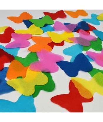 Imagens de Confettis de Papel Borboletas