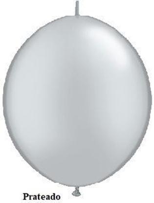 Imagens de Balão Link 12PL Metalizado