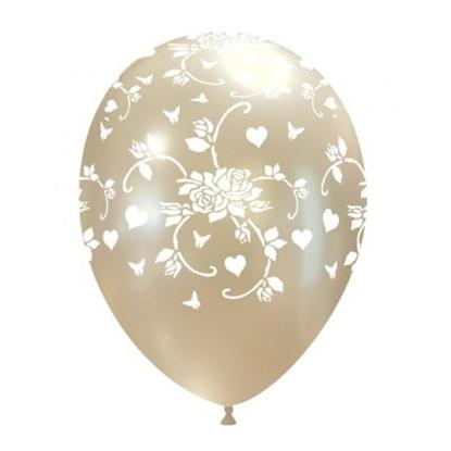Imagens de Balão Metalizado Rosa e Coração