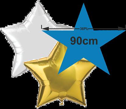 Imagens de Balão Foil Estrela 36'