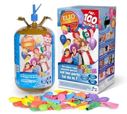 Imagens de Kit Helium 100 Balões