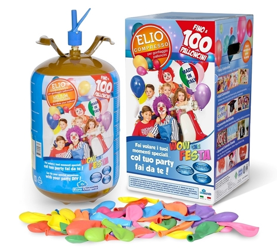 Picture of Kit Helium 100 Balões