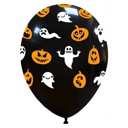 Imagens de Balão Halloween Fantasmas e Abóboras