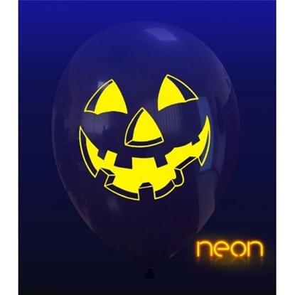 Imagens de Balão Halloween Incolor Riso Abóbora Neon