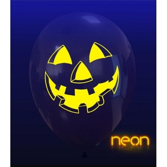 Picture of Balão Halloween Incolor Riso Abóbora Neon