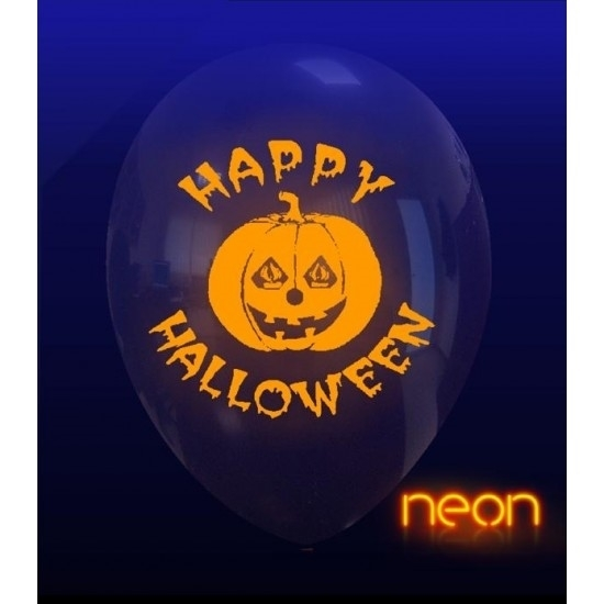Picture of Balão Halloween Incolor Happy Halloween Neon