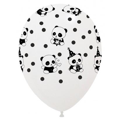 Imagens de Balão Panda e Pintas Pretas