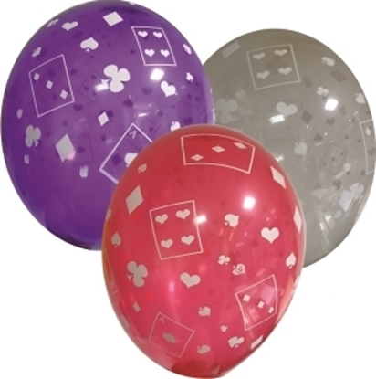 Imagens de Balão Tema Cartas  e  Naipes