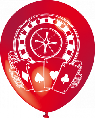Imagens de Balão Tema Casino