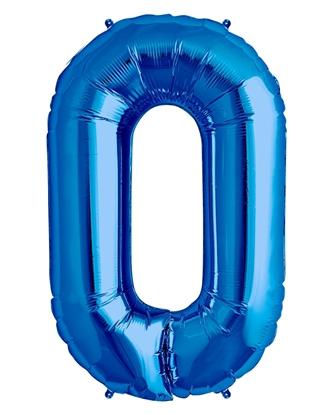 Imagens de Número 0 Azul