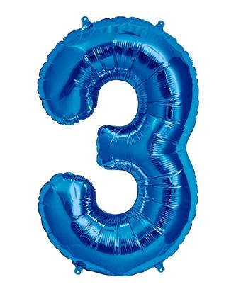 Imagens de Número 3 Azul