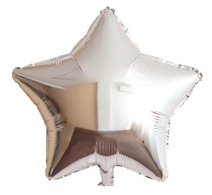 Imagens de Estrela Prata 46cm