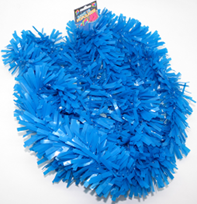 Imagens de Festão Metalizado Azul 12M