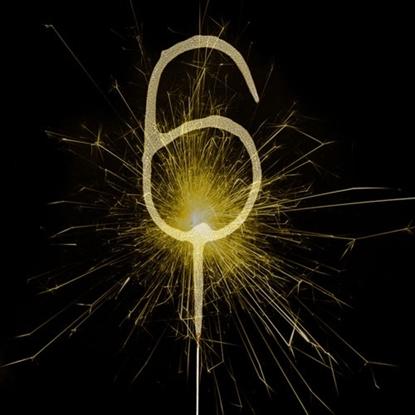 Imagens de Sparkler Dourado Número 6