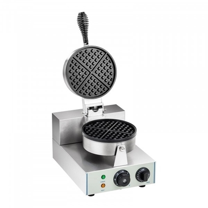 Imagens de Máquina Waffles Belgas Redonda